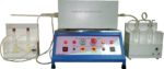Halogen Acid Gas Emission Tester with Digital Flow Indicator