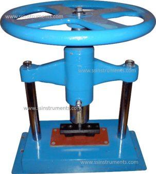 Hand Press Fly Wheel Type