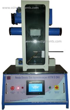 Smoke Density Test Apparatus as per ASTM with HMI
